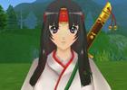 アークサイン、「テレビアニメーション クイーンズブレイド」との新たなタイアップ傭兵キャラクター「武者巫女 トモエ」が登場