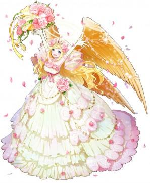 キャラクター人気投票にて、見事一位に輝いた「ジヴリール」がウエディングドレスを身にまとい、一周年限定のSR魔物「祝福のジヴリール」として登場!