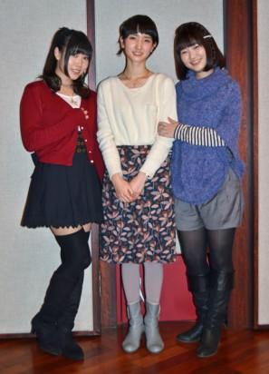 相坂優歌さん、南壽あさ子さんに、井ノ上奈々さん