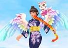 「釣天使」オープンβサービス1周年記念イベントが開催!純白天使ツバサがプレゼント