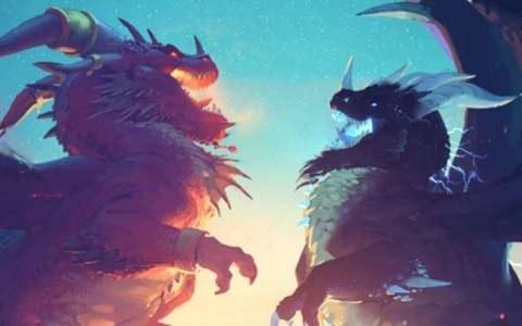 「ハースストーン」新拡張版「激闘!ドラゴン大決戦」や新モード「ハースストーン:バトルグラウンド」が発表!