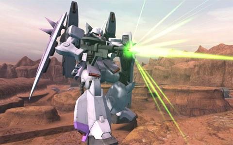 「機動戦士ガンダムオンライン」にて「DXガシャコンVOL.96β」に新機体のメリクリウスとブレイズザクファントム(レイ・ザ・バレル機)が登場!